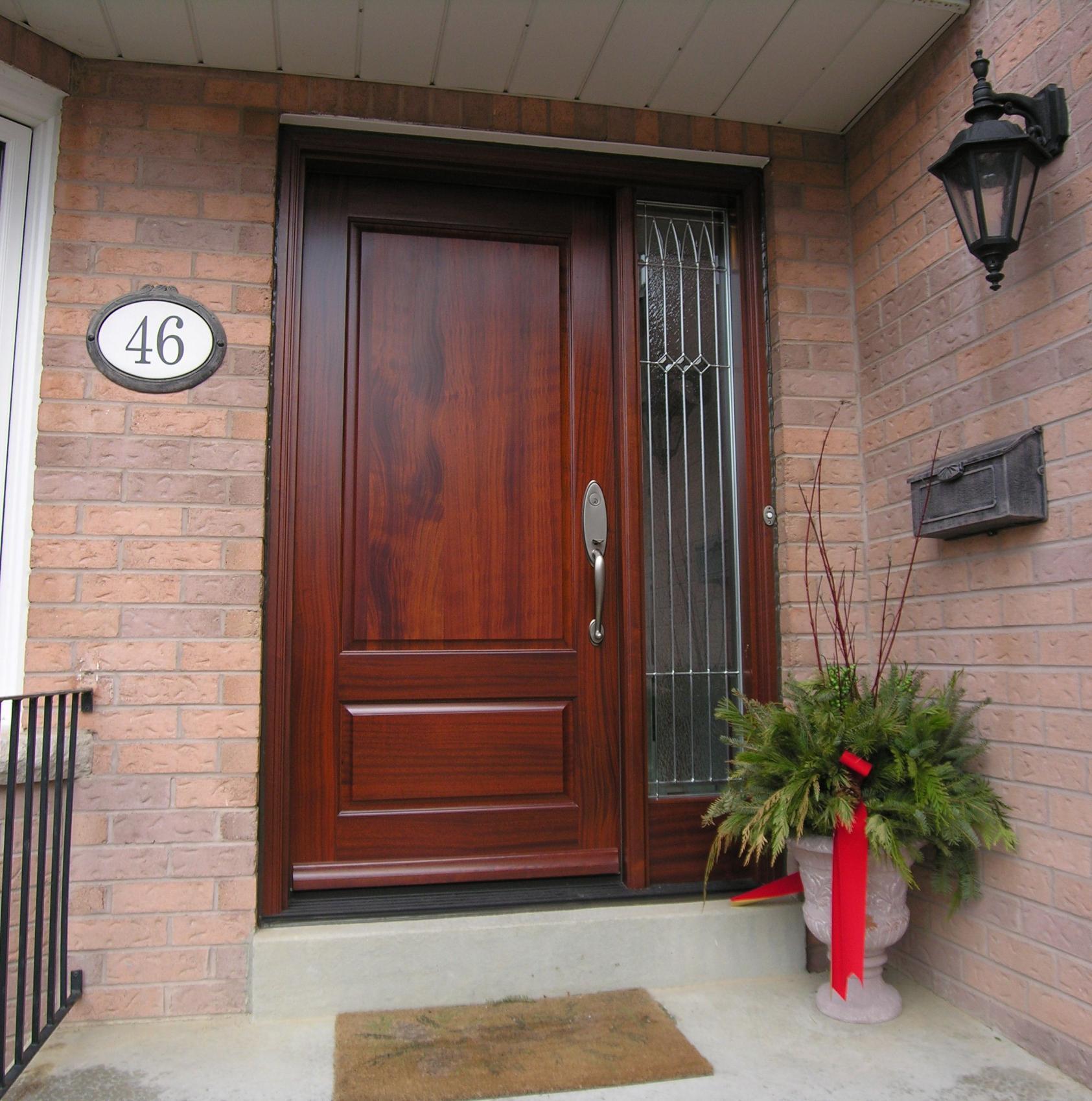 красивые входные двери для частного дома