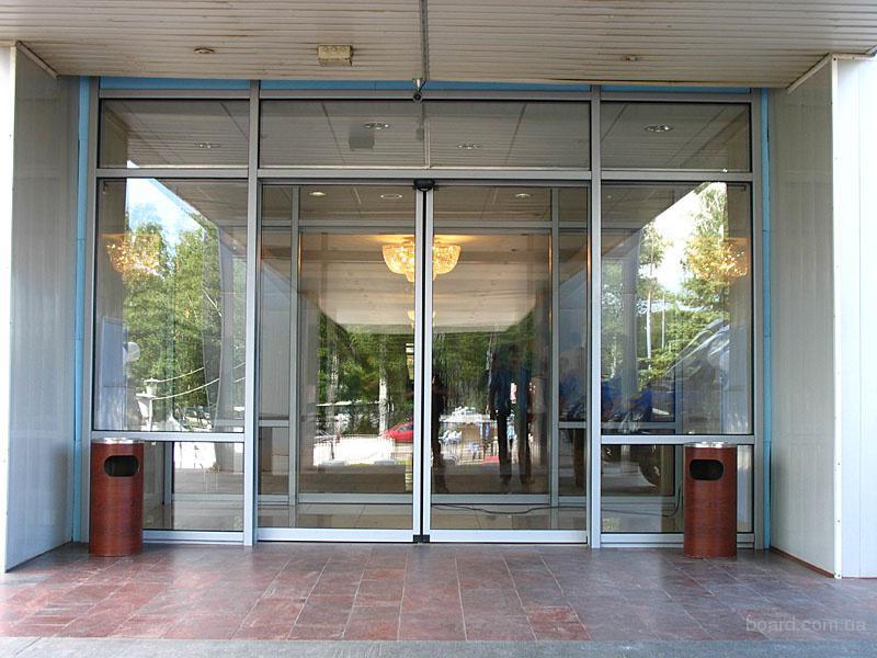 Двери раздвижные входные автоматические в Удачном