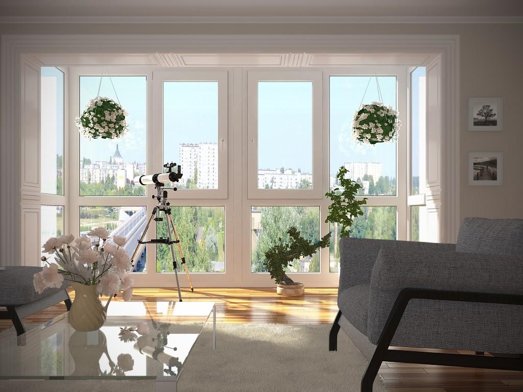 Пластиковые балконы и лоджии. цены на остекление балконов. в.