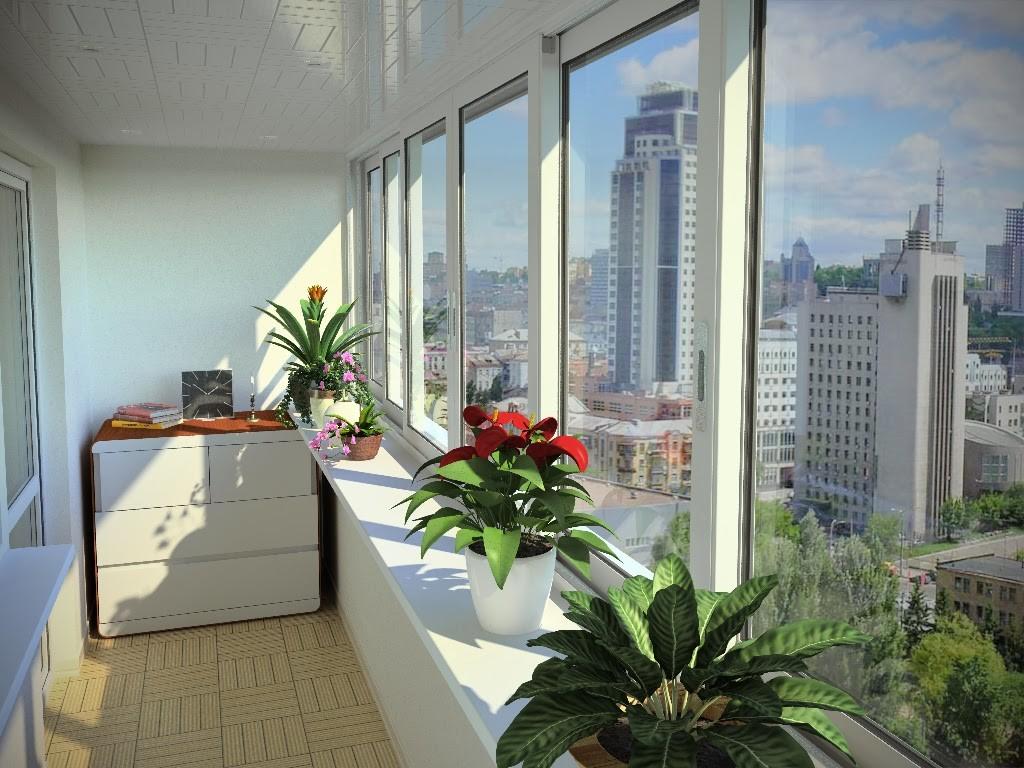 Раздвижные балконы - максимум свободного места и света.