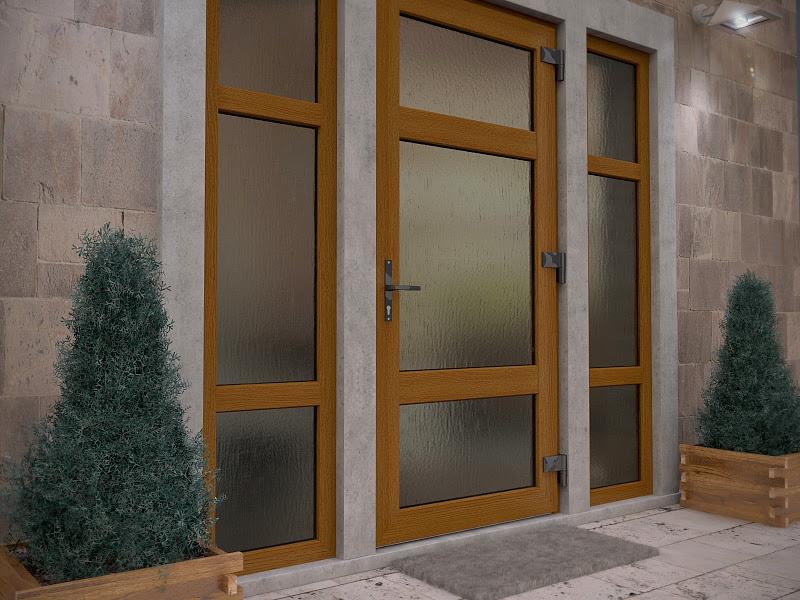 двери пвх входные для дачи