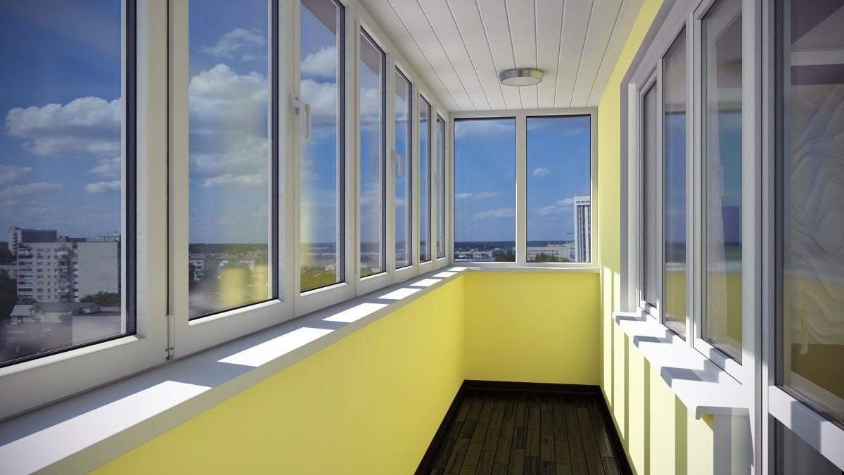 Пластиковые балконы и лоджии. Цены на остекление балконов ...