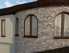 Пластиковые окна для котеджа