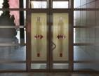 Фацети на вхідних дверях