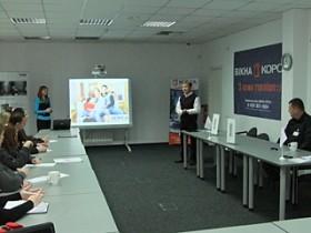 Прес-конференція по технології армування арок