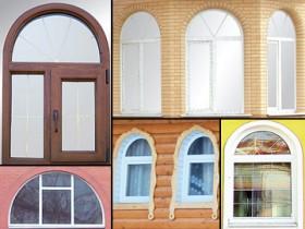 виготовлення арочних вікон