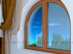 Металлопластиковые арочные окна