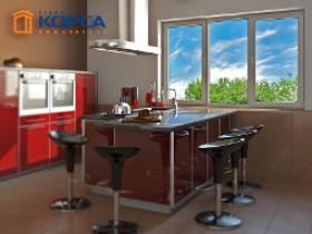 Металлопластиковые окна для кухни