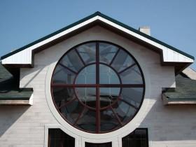 Кругле вікно пвх