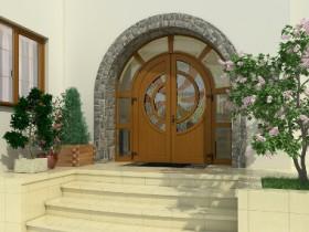 Каталог нестандартних вхідних дверей
