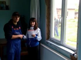 Супер теплі вікна КОРСА дарують радість ще двом українським сім'ям!