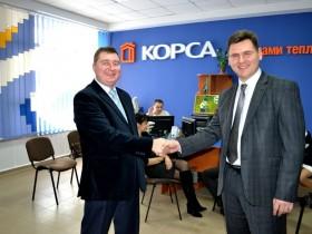 Новый офис ТМ КОРСА в Луцке - Открытие