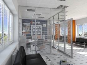 металопластикові та алюмінієві офісні перегородки