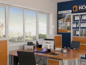 Металлопластиковые окна для офиса