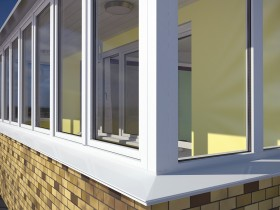 як вибрати вікна на балкон і балконний блок