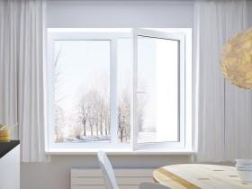 стандартні пластикові вікна