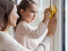 как вымыть окна