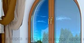 Металопластикові арочні вікна