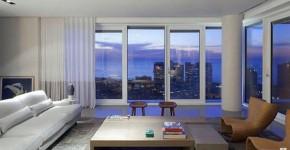 большие окна от потолка до пола