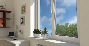 Металлопластиковые окна для детской комнаты