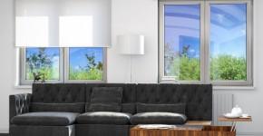 Окна для гостиной комнаты