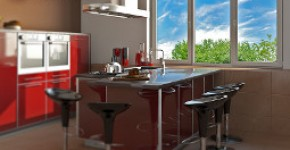 Металопластикові вікна для кухні
