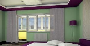 Металлопластиковые окна для спальни
