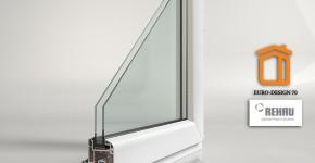 окна рехау евро дизайн 70