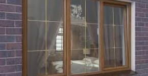 Кольорові металопластикові вікна