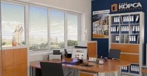 Металопластикові вікна для офісу