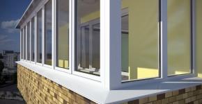 как выбрать окна на балкон и балконный блок