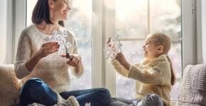 Прикрашання вікон до Нового року