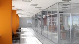 Алюмінієві конструкції в сучасному інтер'єрі