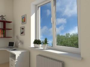 Металопластикові вікна для дитячої кімнати