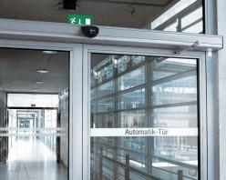 Автоматические распашные двери
