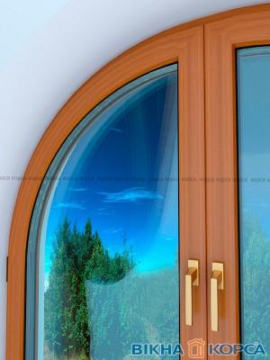 Испытание арочного окна