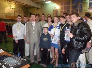 Чемпионат по рукопашному бою в Славянске