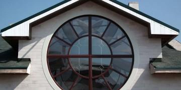 Круглое окно пвх
