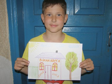 Конкурс рисунка: окна в детскую комнату