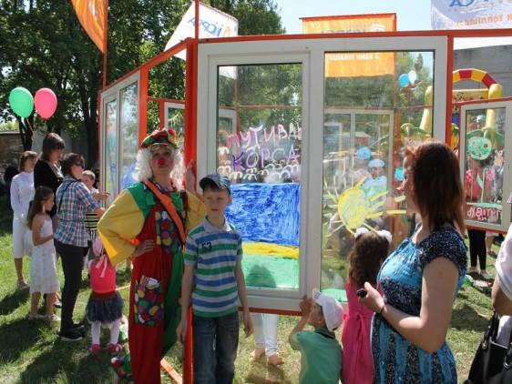 ТМ КОРСА организовала детский праздник в г. Путивль