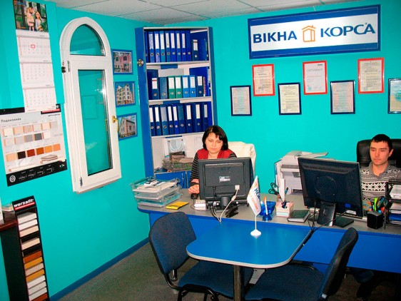 Відкриття офісу металопластикових вікон в Києві