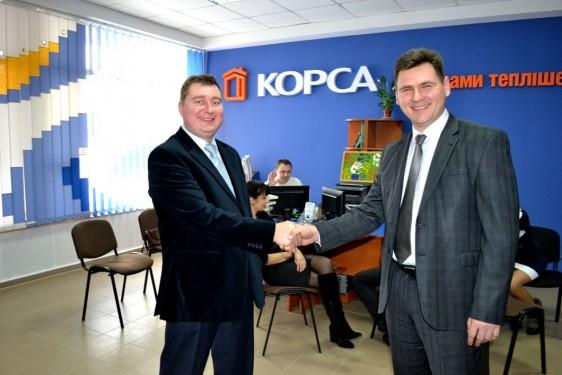 Відкриття офісу ТМ КОРСА у Луцьку