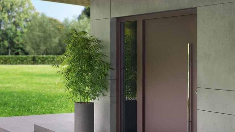 Алюминиевые входные двери Хёрманн