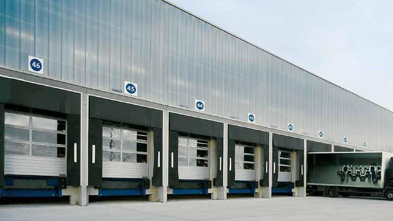 Промышленные секционные ворота Hörmann
