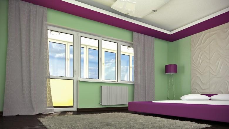остекление балкона РЕХАУ Экосол Дизайн 70