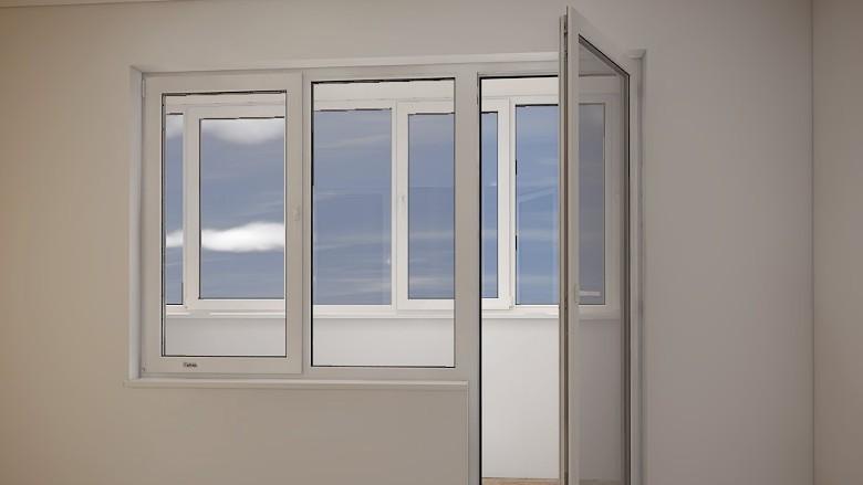 металлопластиковые окна Рехау Корса Дизайн 70