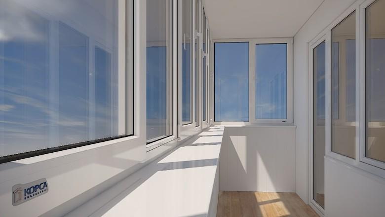 купить окна Rehau Korsa Design 70 (Рехау Корса Дизайн 70)