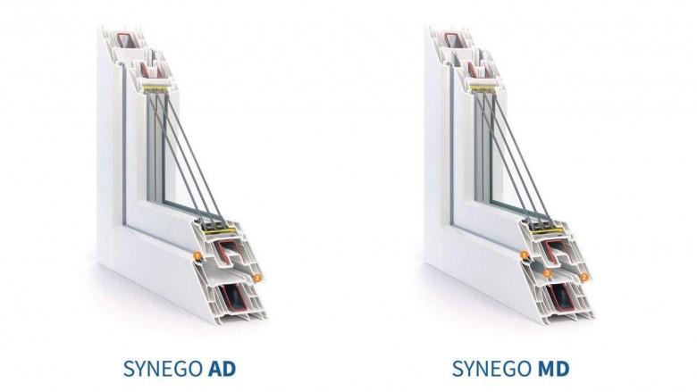 Пластиковые окна из профиля REHAU Synego