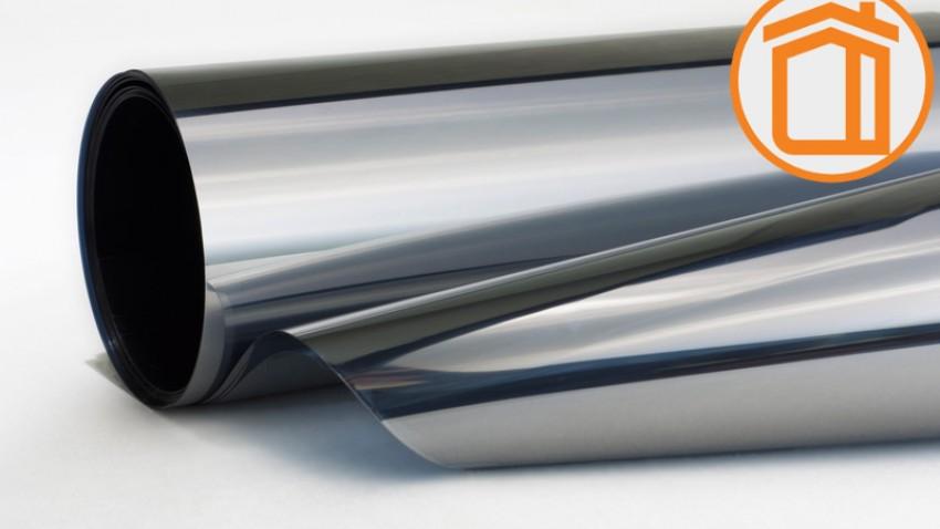 Солнцезащитная зеркальная пленка Silver 30 M