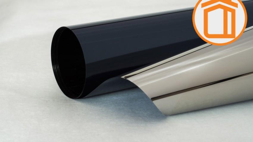 Солнцезащитная зеркальная пленка G-M 10 G (серая/серебро)
